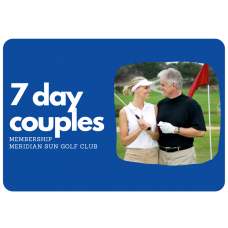 7 Day Couple's Membership